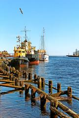 Sea dock.
