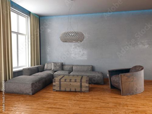 design wohnzimmer rustikal vintage look stockfotos und lizenzfreie bilder auf. Black Bedroom Furniture Sets. Home Design Ideas