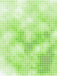 Abstract light green summer square mosaic background.
