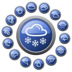 Weather button set