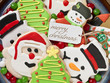 gingerbread cookies decorations