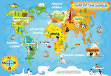 Kid's world map