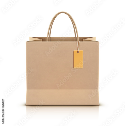 Paper shopping bag - 46219027