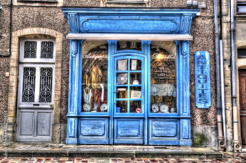 HDR d'un magasin ancien