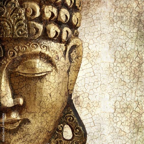 Papiers peints Statue Old Buddha