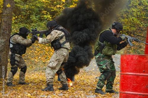 masked men, police, special