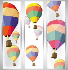 hot air balloon banners