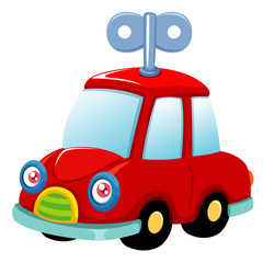 illustration of Toy car Vector