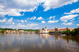 Charles Bridge Through Vltava River