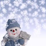 Lass es schneien poster