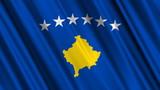 Kosovo Flag looping animation poster