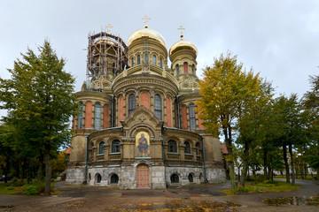 orthodoxe Kathedrale der Heiligen Dreifaltigkeit in Liepaja