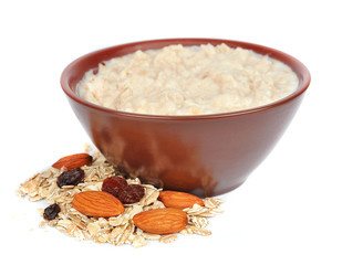 porridge with nuts
