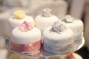 Wedding cakes (shallow  dof)