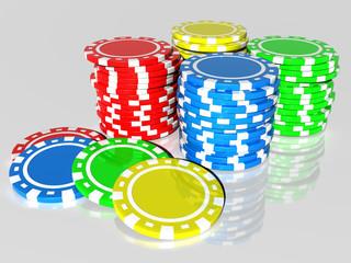 Banner set on a Casino theme