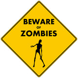 Beware of Zombies poster