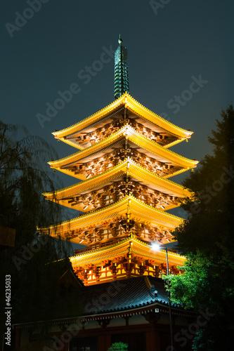 Pagoda of Sensoji