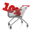 10 percent in cart