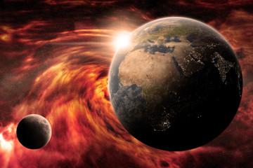 Apocalypse on planet Earth