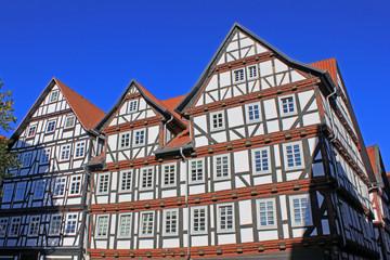 Historische Fachwerkhäuser in Melsungen (Hessen)