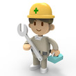 3D - Worker01