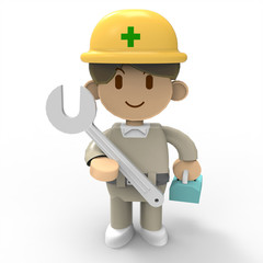 3D - Worker02