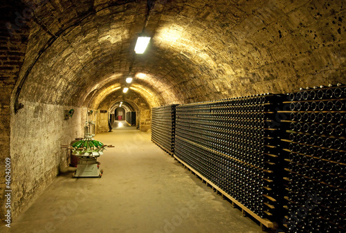 Wine cellar in Hungary
