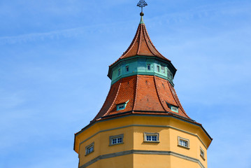 Detailansicht Wasserturm Rastatt (1901)