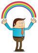 Creating rainbow