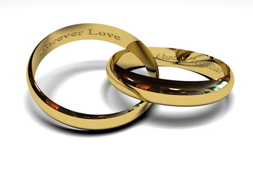 wedding rings engraving