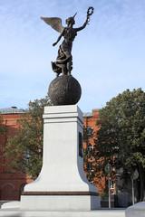 Independence Monument in Kharkiv, Ukraine