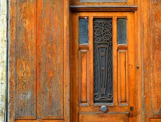 Detail antike Tür, Frankreich
