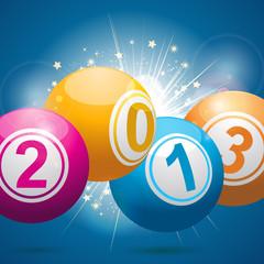 2013 bingo lottery balls