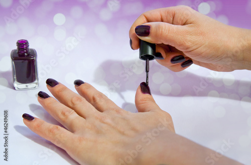 Fototapeten,hand,hand,makeup,braut