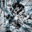 Blue abstract digital background vector eps10