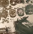 Fototapete Flugzeug - Armee - Retro