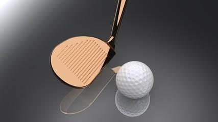 Golf: sand wedge in berilium