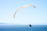 Paraglider Over the Santa Barbara