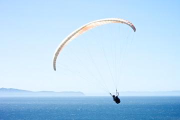 Paraglider Over the Santa Barbara