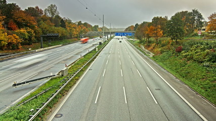 Autobahn Time Lapse