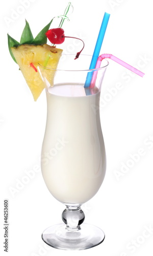 Cocktail pina colada.