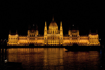 Parlament Ungarn in Budapest