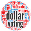 Dollar voting concept
