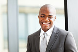 confident african american business executive