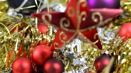 Gltzerndes Weihnachten mit Wehnachtsstern