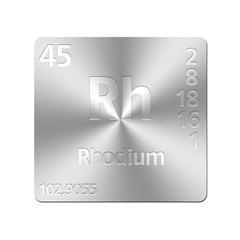 Rhodium.