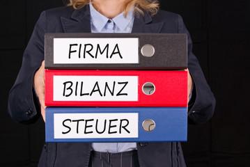 Firma Bilanz Steuer