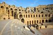 El Djem, Amphitheatre, auditorium