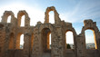 El Djem Amphitheatre arches