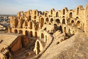 El Djem Amphitheatre in Tunisia